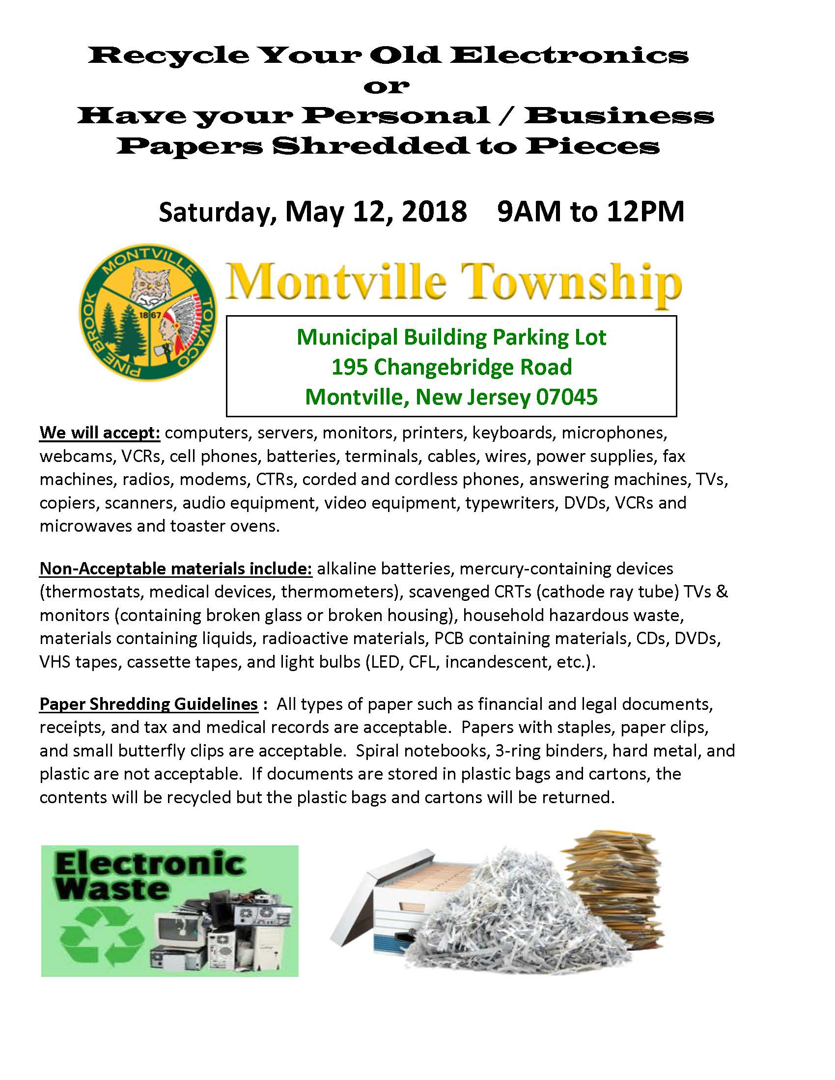 Recycle Event Flyer